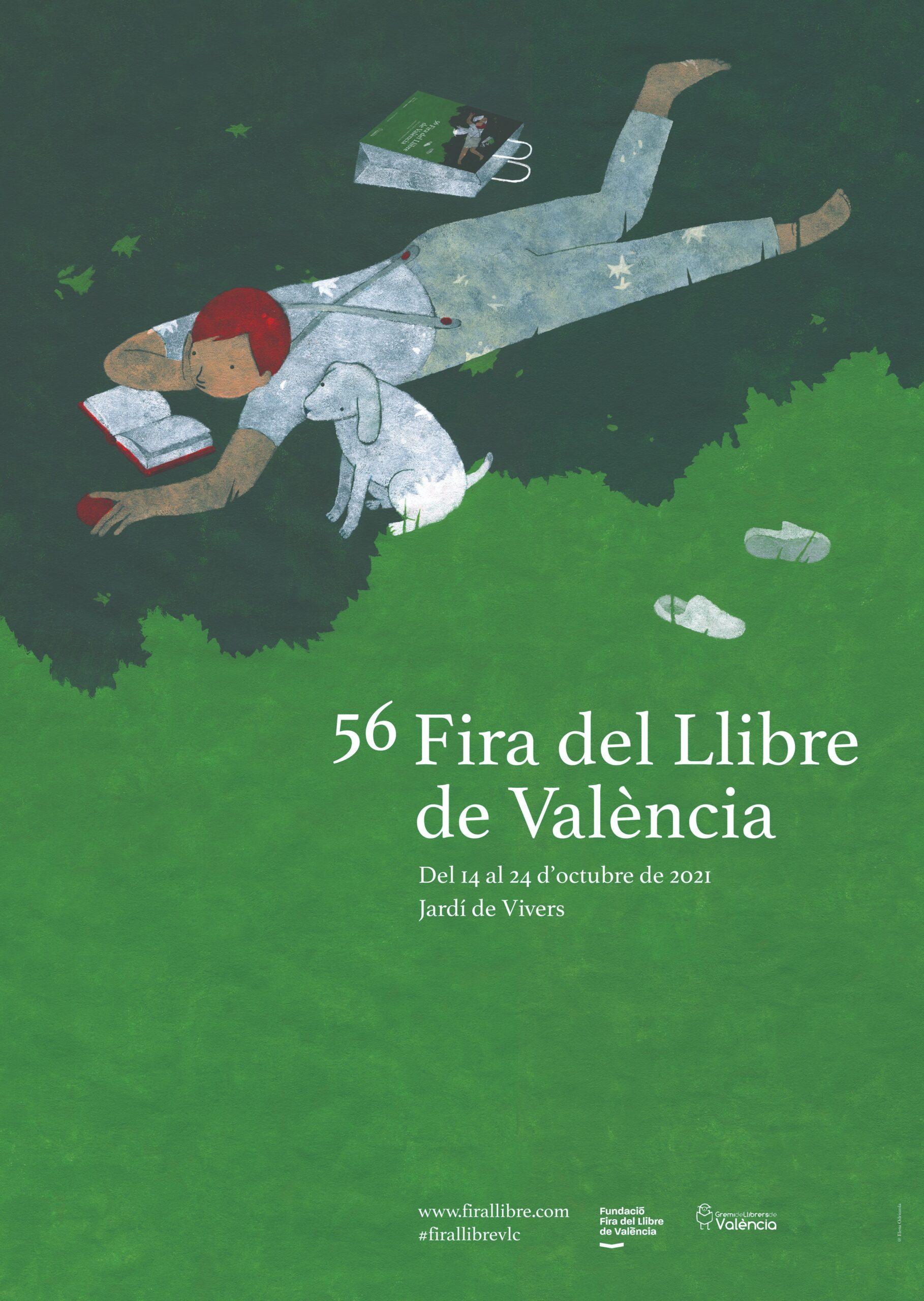 LA 56 FIRA DEL LLIBRE DE VALÈNCIA SE CELEBRARÁ DEL 14 AL 24 DE OCTUBRE DE 2021 - Fira Llibre de València